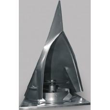 Дефлектор TWIST 160 димовий ковпак стальний Dospel 007-0419