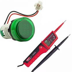 Цифрові малогабаритні вимірювачі та мультиметри