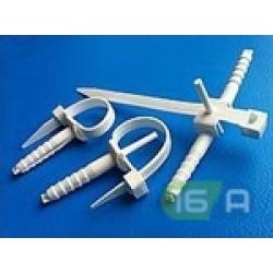 Кріплення для труби і кабеля