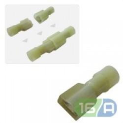 FDFNY/MDFNY - наконечники-конектори повністю ізольовані